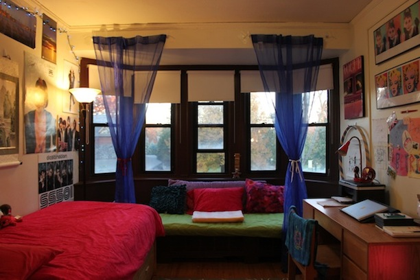 Bryn Mawr College Project Dorm Room